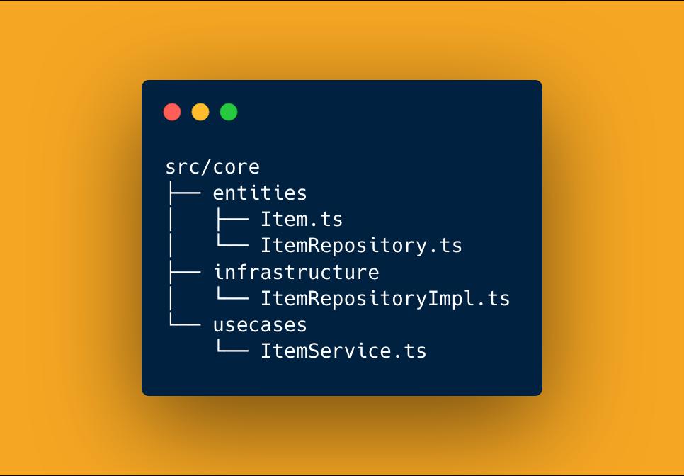 Core Folder Structure